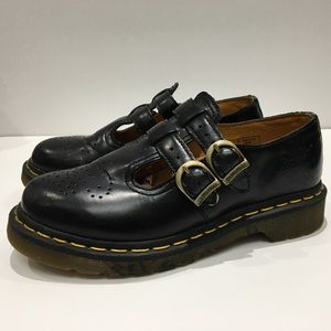 Doc Martens Mary Jane Shoes Size 6